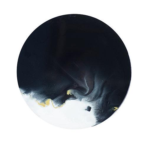 ダン 黕 ・月球體・手工掛牆裝飾 30cm