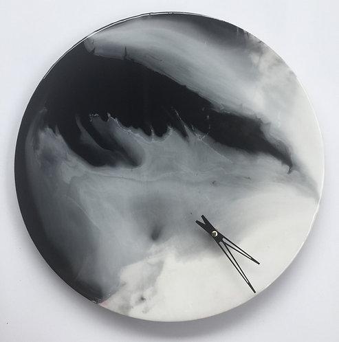 Wing in Angel・White in Black・Clock n Clock・Stop n Walk 天使の翼 40cm