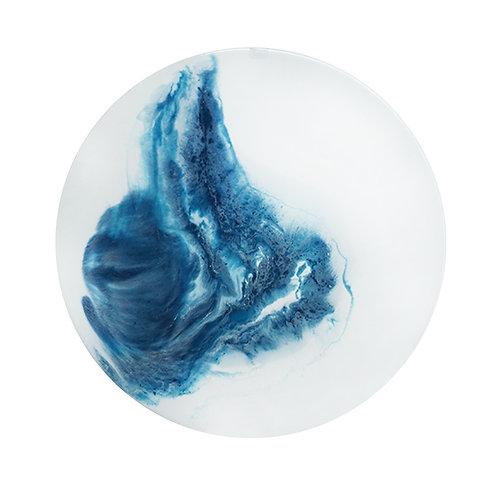 Ice and Sea 冰 和 洋・月球體・手工掛牆裝飾 30cm