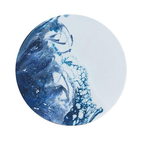 Arctic Ice Planet 冰川流・月球體・手工掛牆裝飾 30cm
