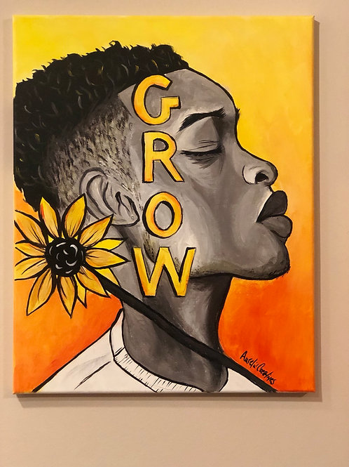 Grow 16x20 Original Painting