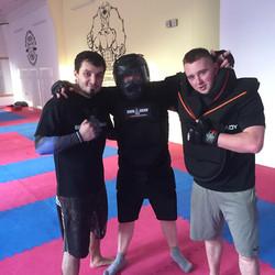 TDI - Josef P with English Trainers
