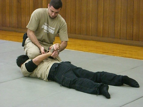 Tactical Hand Cuffing, Arresting, & Searching Tech