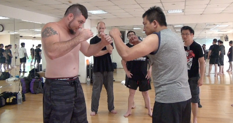 RAW Basics Vol. 2 Combative Hand 2 Hand Drills