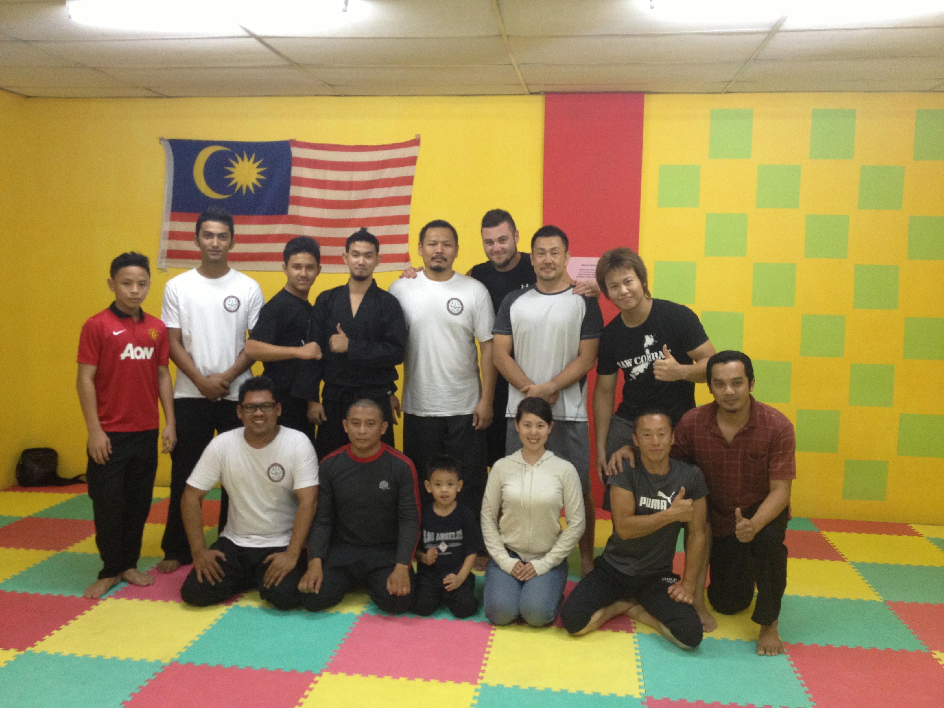 Raw Combat Japan visits Malaysia '13