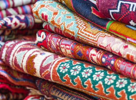 Einrichten mit Textilem und Teppichen