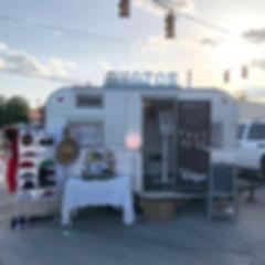 Bishopville BBQ, Bishopville SC, Vintique Camper Co, Photo Booth Camper Trailer