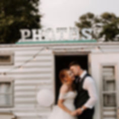 Glenview Farm Wedding, Timmonsville SC, Vintique Camper Co, Photo Booth Camper Trailer