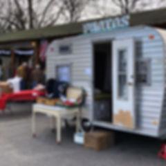 Hartsville SC, Vintique Camper Co, Photo Booth Camper Trailer