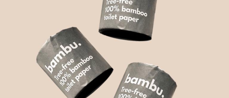 Luxury 100% Bamboo Toilet Paper - 24 Rolls