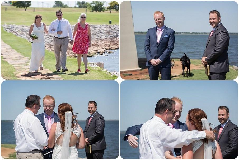 Lake Hefner Wedding Photographer