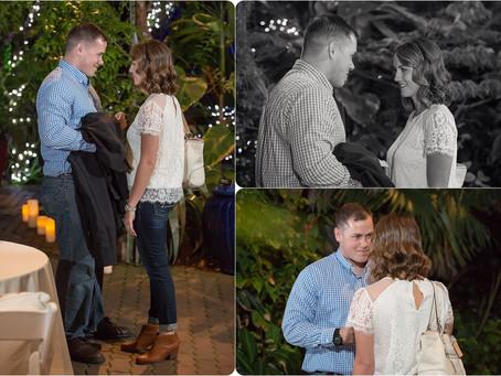 Sean's Proposal – Botanical Gardens – Photos by Keshia