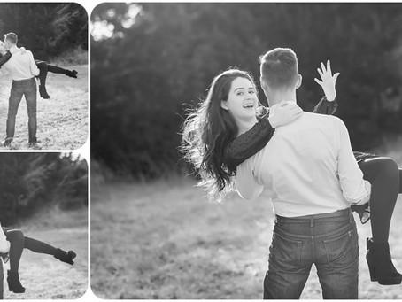 Engagement Photos – K + D – Yukon, OK – Photos by Keshia