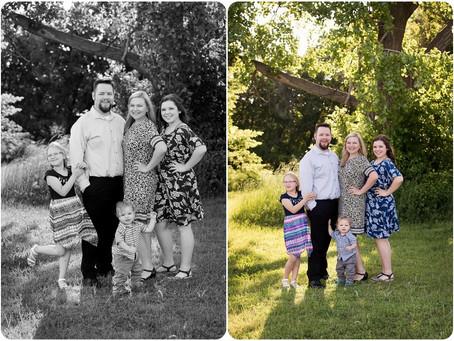 Family Photographer Yukon, OK – Ketcher Family Session – Photos by Keshia