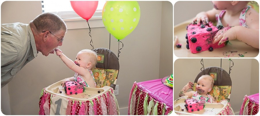 1st birthday party pics