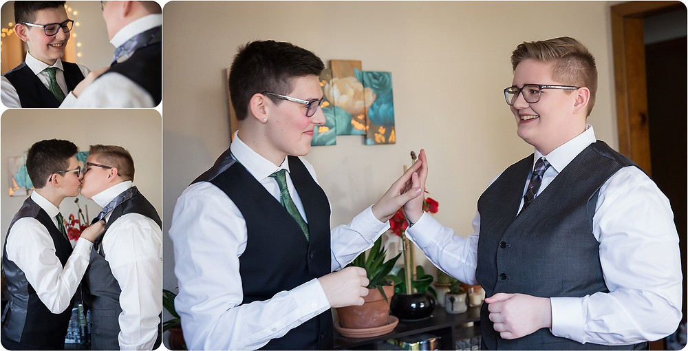 Gay wedding photographer
