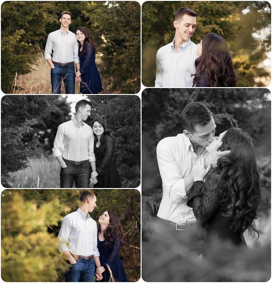 Engagement photos yukon