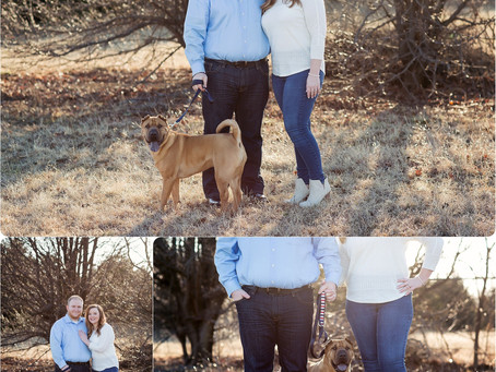 OKC Engagement Photos – Parker + Felicia – Photos by Keshia