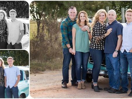 Fall Family Sessions – Crenshaw Family – Photos by Keshia