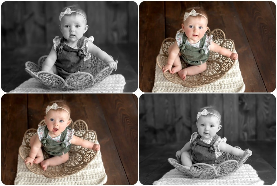 6 month photo session