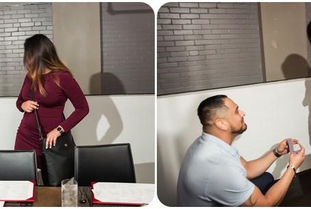 Aurelio + Sarah = Engaged! – Oklahoma City Engagement – Photos by Keshia