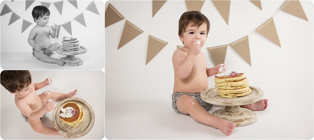 Cake smash - Photos by Keshia - Yukon OK