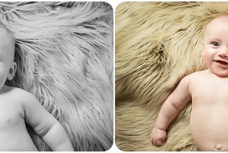 Milestone Sessions – Baby Jaxson – Photos by Keshia