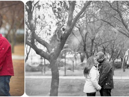 Engagement photographer OKC – K + B – Photos by Keshia