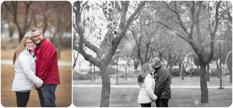 Engagement photographer okc