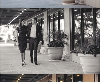 Colcord Hotel Engagement Session – Photos by Keshia