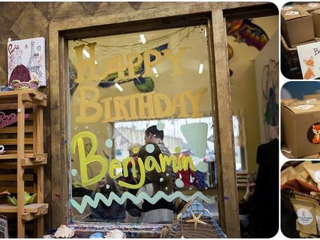 1st Birthday Party – Baby Ben – Photos by Keshia