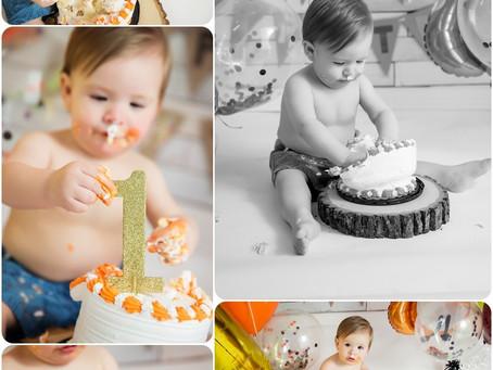 1st Birthday Pictures – Yukon, OK – Photos by Keshia