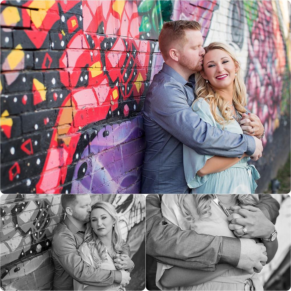 OKC bricktown engagement photography