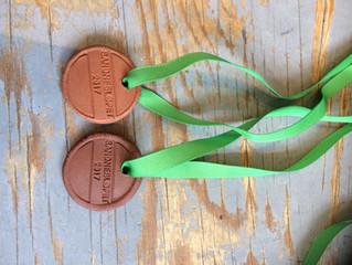 Deltaker medaljer er klar