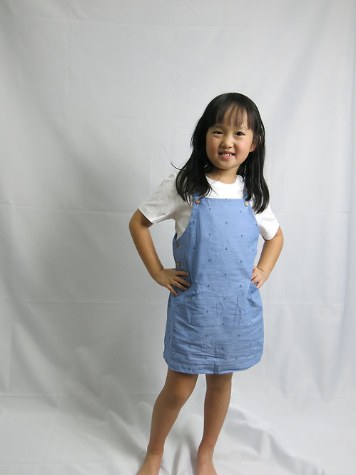 Anchor Blue Dress for her Weekend