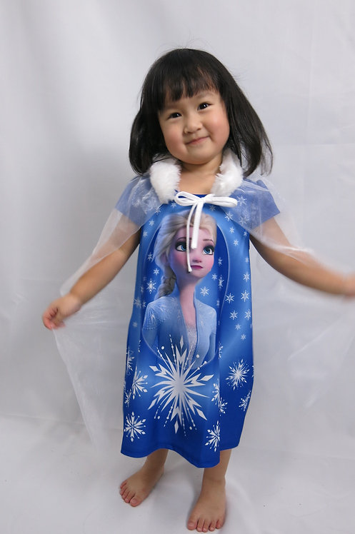 Super Cute Queen Elsa 2 Play Dress