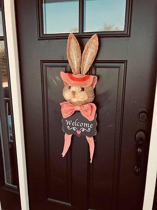 Spring Door Bunny
