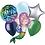 Thumbnail: Happy Birthday Mermaid Balloon Bouquet