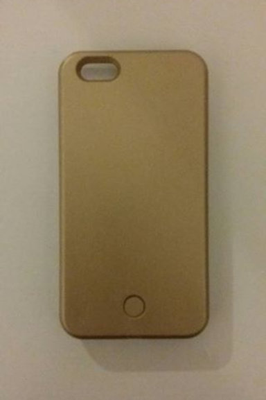 Iphone 5 Luminous Case Gold