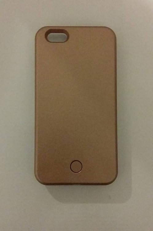 PRE ORDER Iphone 7 Luminous Case Rose Gold