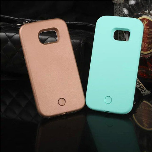 Samsung S5 Luminous Case Rose Gold
