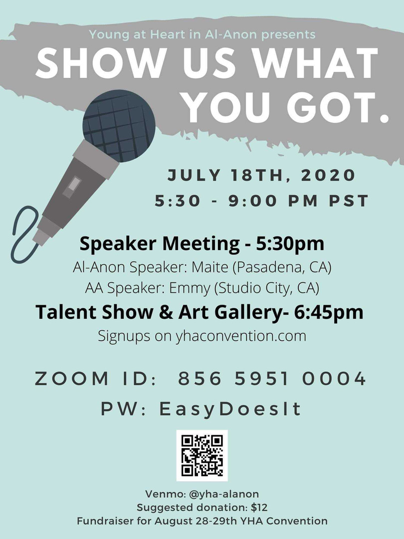 Show us what you got TALENT SHOW