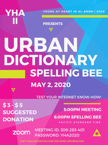 Urban Dictionary Spelling Bee