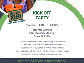 Save the Date for Kickoff Party