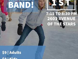 Band Ice Skating Social, Feb 1st.