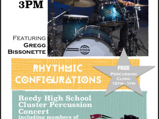 4th Annual Reedy Cluster Cluster Percussion Concert