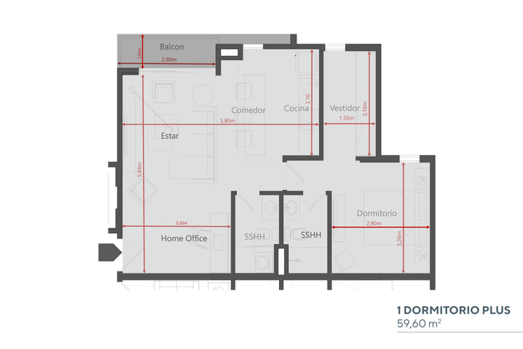 Cuatro 1 Dormitorio Plus.png