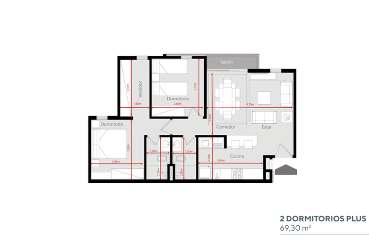 Cuatro 2 Dormitorios Plus.png