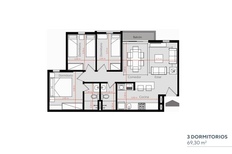 Cuatro 3 Dormitorios.png