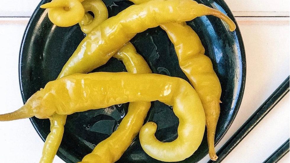 Острый зеленый перец Гиндилья